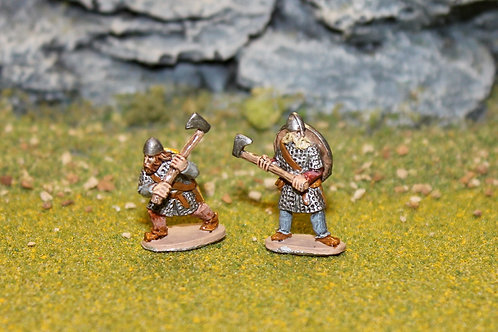 15mm Late Saxon Huscarls with Axes