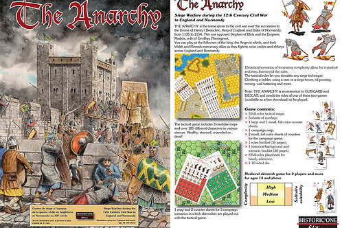The Anarchy - hexmap game
