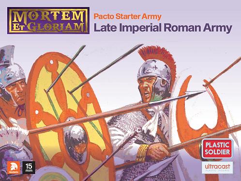 15mm Late Roman Army Pack (Mortem et Glorium)