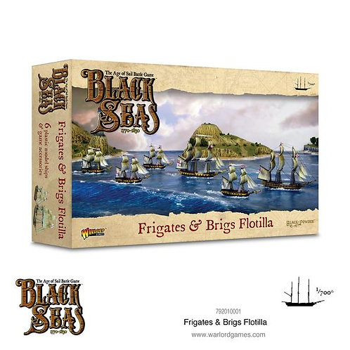 Frigates & Brigs Flotilla (1770-1830) - Black Seas