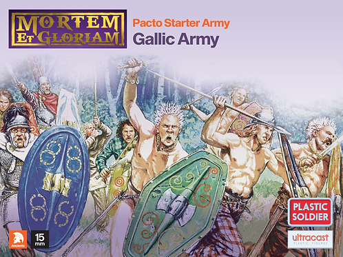 15mm Gallic Army Starter Pack (Mortem et Glorium)