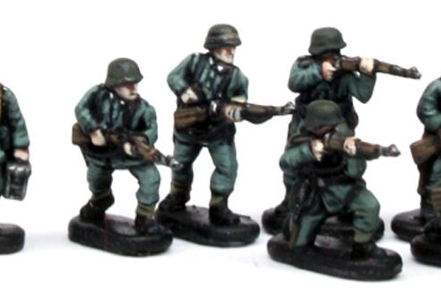 German Infantry & Heavy Weapons (Late War) 1:144th scale