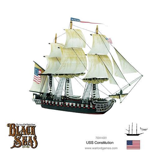 USS Constitution - Black Seas