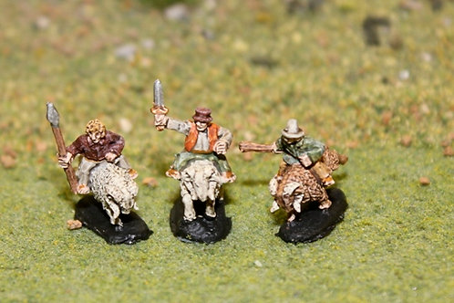 Halfling Militia on Rams (The Gruffs)