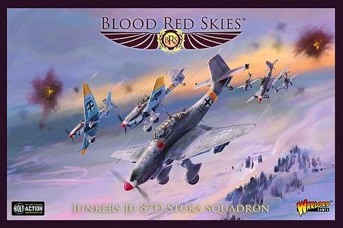 Ju 87D Stuka Squadron - Blood Red Skies