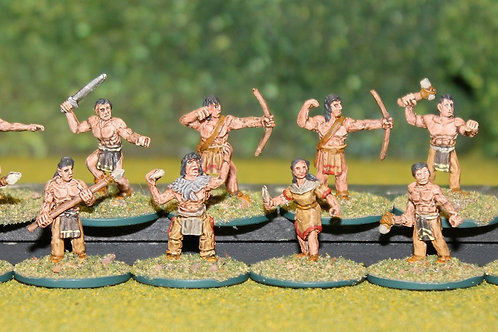 15mm Skraeling Warband