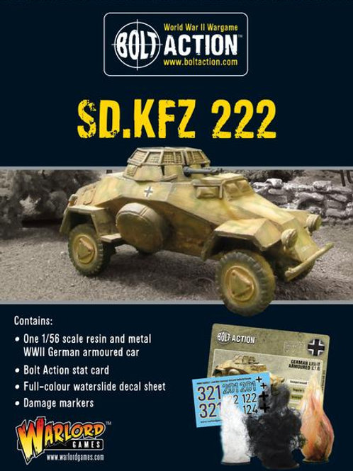 Sd.Kfz 222 ARMOURED CAR