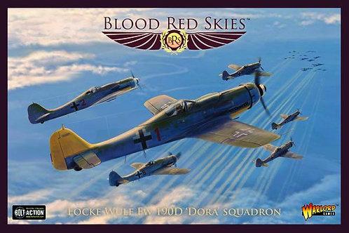 Fw 190 Dora Squadron - Blood Red Skies
