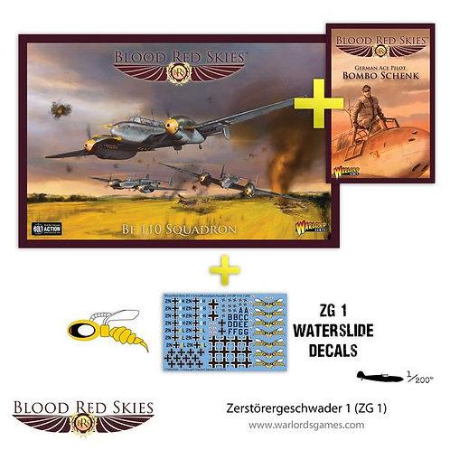Zerstorergeschwader 1 (ZG1) - Blood Red Skies