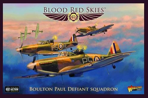 Boulton Paul Defiant Squadron - Blood Red Skies