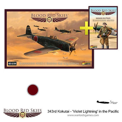 343rd Kokutai 'Violet Lightning' in the Pacific - Blood Red Skies