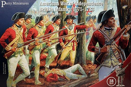 AMERICAN WAR OF INDEPENDENCE - BRITISH INFANTRY 1775-1783