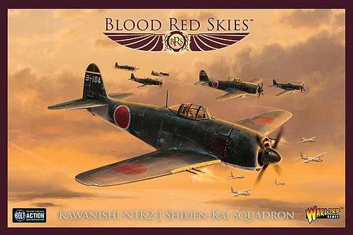 Kawanishi N1K-1 'Shiden' Squadron - Blood Red Skies