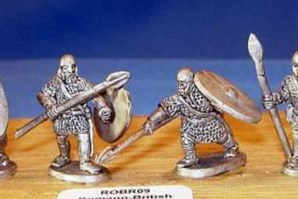 15mm Romano-British Heavy Infantry with spears