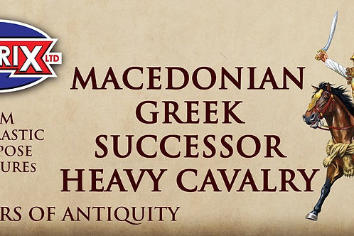 MACEDONIAN GREEK SUCCESSOR HEAVY CAVALRY