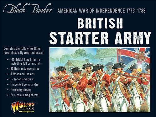AMERICAN WAR OF INDEPENDENCE - BRITISH STARTER ARMY