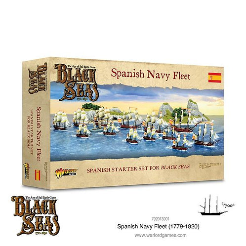 Spanish Navy Fleet (1770-1830) - Black Seas