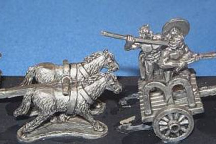 15mm Scots-Irish Chariots