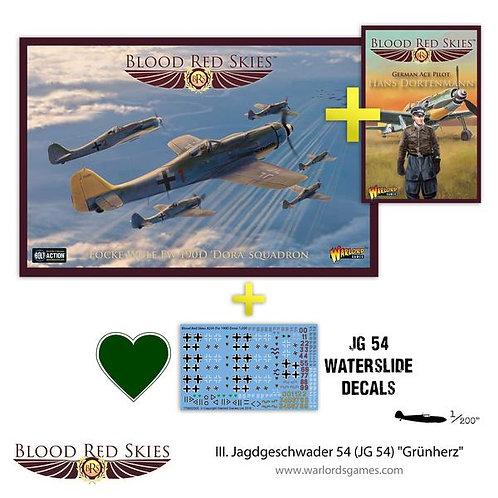 "III. Jagdgeschwader 54 (JG54) ""Grunherz"" - Blood Red Skies"