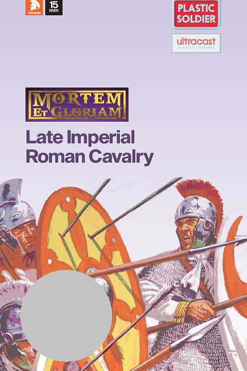 15mm Late Imperial Roman Cavalry Booster Pack