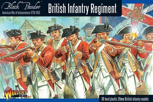 AMERICAN WAR OF INDEPENDENCE - BRITISH INFANTRY REGIMENT