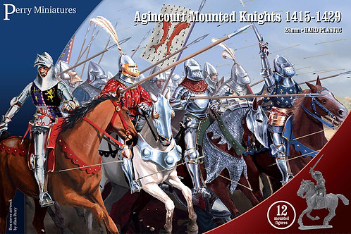 Agincourt Mounted Knights 1415-1429