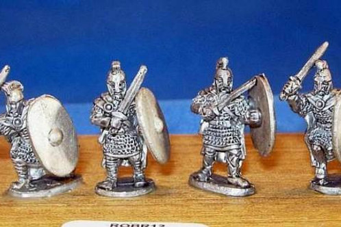 15mm Romano-British Heavy Infantry (with swords & crested helmets)