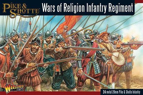 WARS OF RELIGION INFANTRY REGIMENT