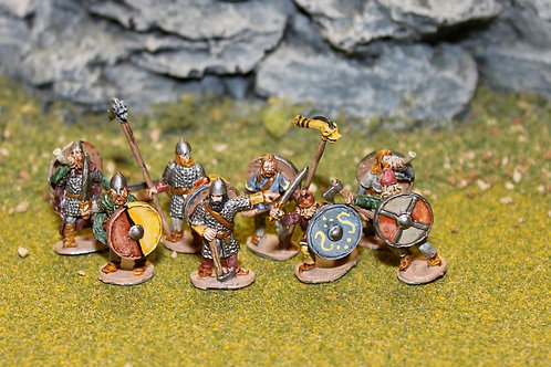 15mm Late Saxon Infantry Command