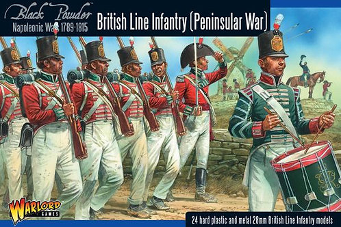 BRITISH LINE INFANTRY - PENINSULAR CAMPAIGN