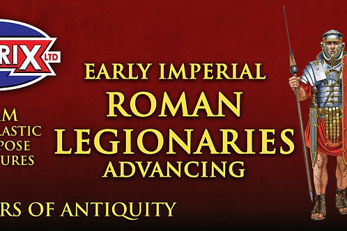 EARLY IMPERIAL ROME LEGIONARIES - ADVANCING