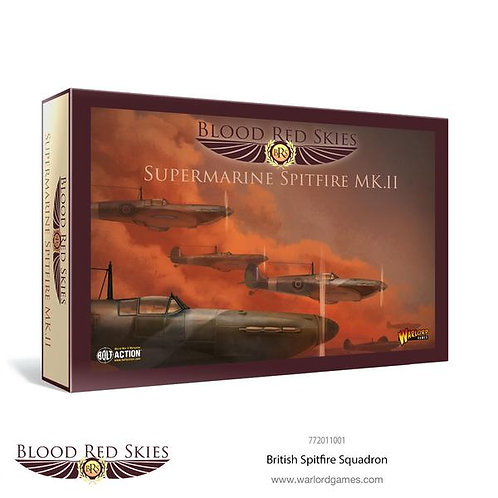 Spitfire Mk II Squadron - Blood Red Skies