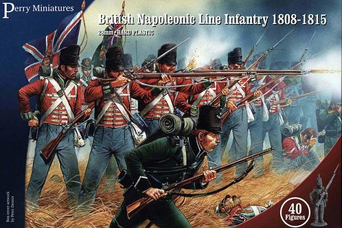BRITISH LINE INFANTRY 1808-1815