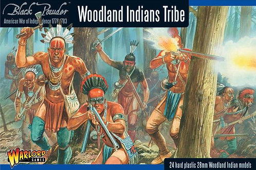 AMERICAN WAR OF INDEPENDENCE - WOODLAND INDIANS TRIBE