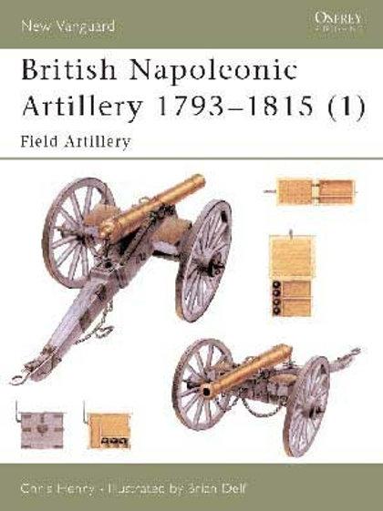 British Napoleonic Artillery 1793-1815 (1) Field Artillery