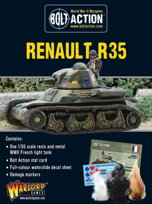 RENAULT R35 TANK
