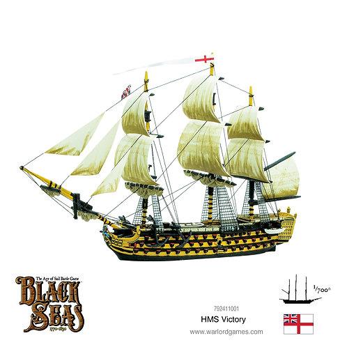 HMS Victory - Black Seas