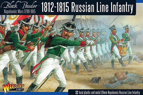 RUSSIAN LINE INFANTRY 1812-1815