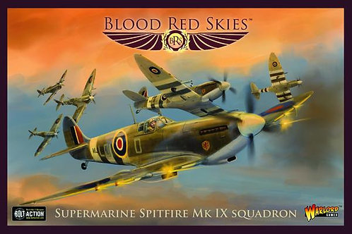 Spitfire Mk IX Squadron - Blood Red Skies