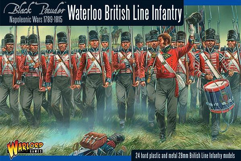 BRITISH LINE INFANTRY - WATERLOO CAMPAIGN