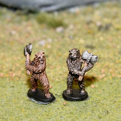 Bear Warriors with Axes
