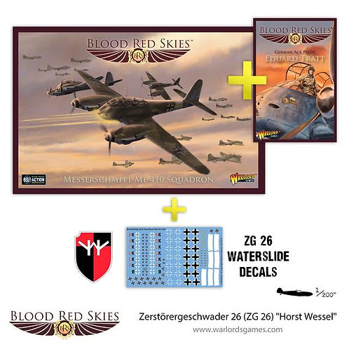 Zerstorereschwader 26 (ZG26) - Blood Red Skies