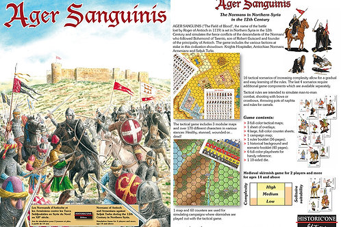 Ager Sanguinis (The Field of Blood) Hex game