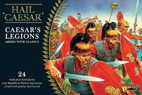 CAESAR'S LEGIONS ARMED WITH GLADIUS