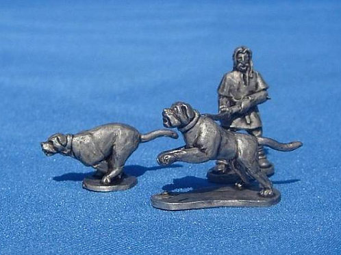 15mm Early Saxon War Dogs