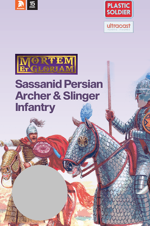 15mm Sassanid Archers & Slingers Booster Pack