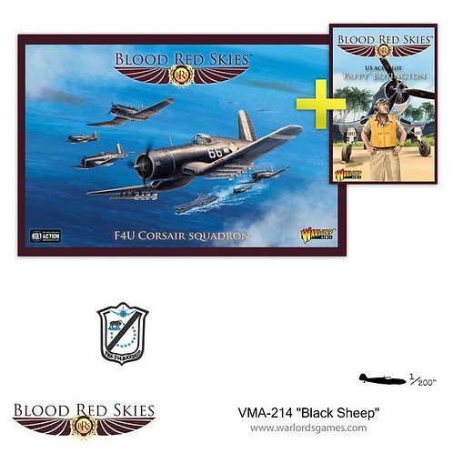 "VMA-214 ""Black Sheep"" Squadron - Blood Red Skies"