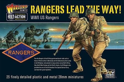 US RANGERS (PLASTIC BOX SET)