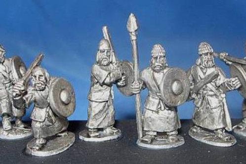 15mm Scots-Irish Superior Warriors