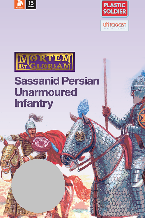 15mm Sassanid Unarmoured Infantry Booster Pack
